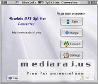 Absolute MP3 Splitter & Converter 2.7.9
